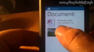 Nokia Lumia 800 - Demo SkyDrive