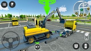 Drive Simulator 2 - Heavy Excavator Transport And Digging Construction Vehicles