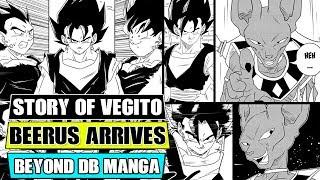Beyond Dragon Ball Super: Vegito Meets Beerus! The Story Of Vegito