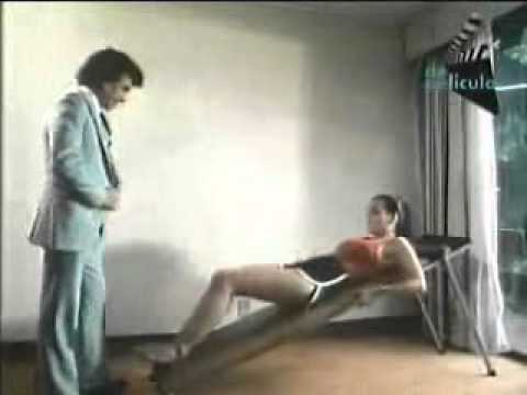 Maribel Guardia haciendo ejercicio