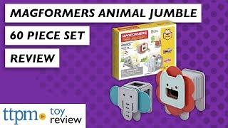 Animal Jumble 60 Set from Magformers