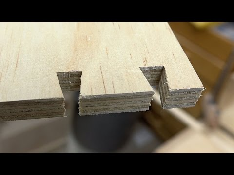 CLEAN CUT Dovetails On The Table Saw