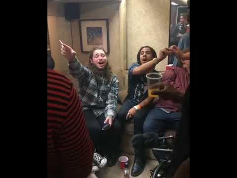 Post Malone & Vic Mensa Singing To Hey There Delilah