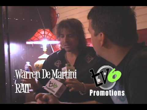 RATT Interview with Warren De Martini Chicago 7-24-09 TV6