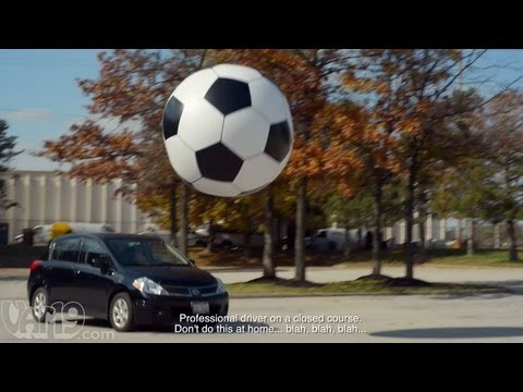 6-Foot Giant Inflatable Soccer Ball