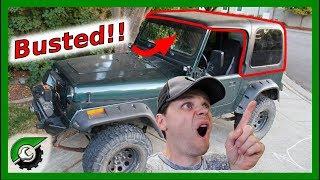 Jeep Wrangler Hard Top Rebuild