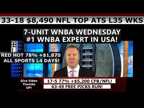 7-U WNBA WED! FREE SPORTS PICKS – Expert MLB Baseball Predictions 9/6/17 78% PREMIUM PICK RUN!
