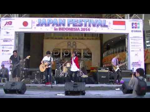 AkaiRo - Egao (Ikimono Gakari Cover) @Japan Festival 2014