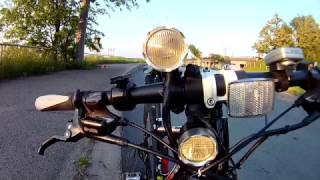 High + Low Beam Bicycle Headlight / Дальний + ближний свет велофара велосипеда велофонарь