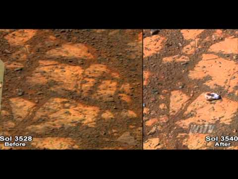 Donuts On Mars: Rovers have new focus in the search for life on Mars #W1TV