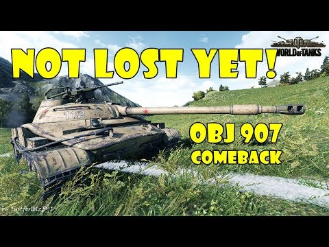 World of Tanks - PURE Gameplay [OBJ 907 COMEBACK | 9000 DMG, 10 FRAGS by _Crusad3r_]