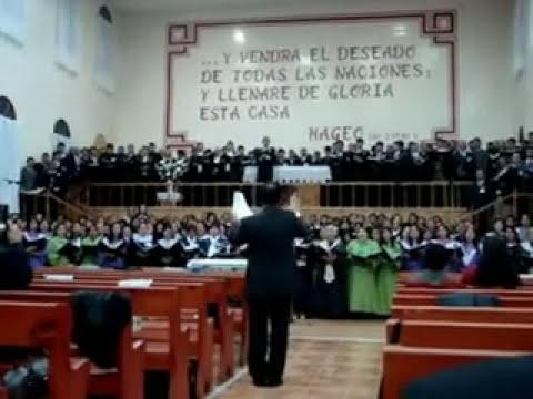 Mas Cerca Oh Dios de tí - Concentración de coros en Copiapó