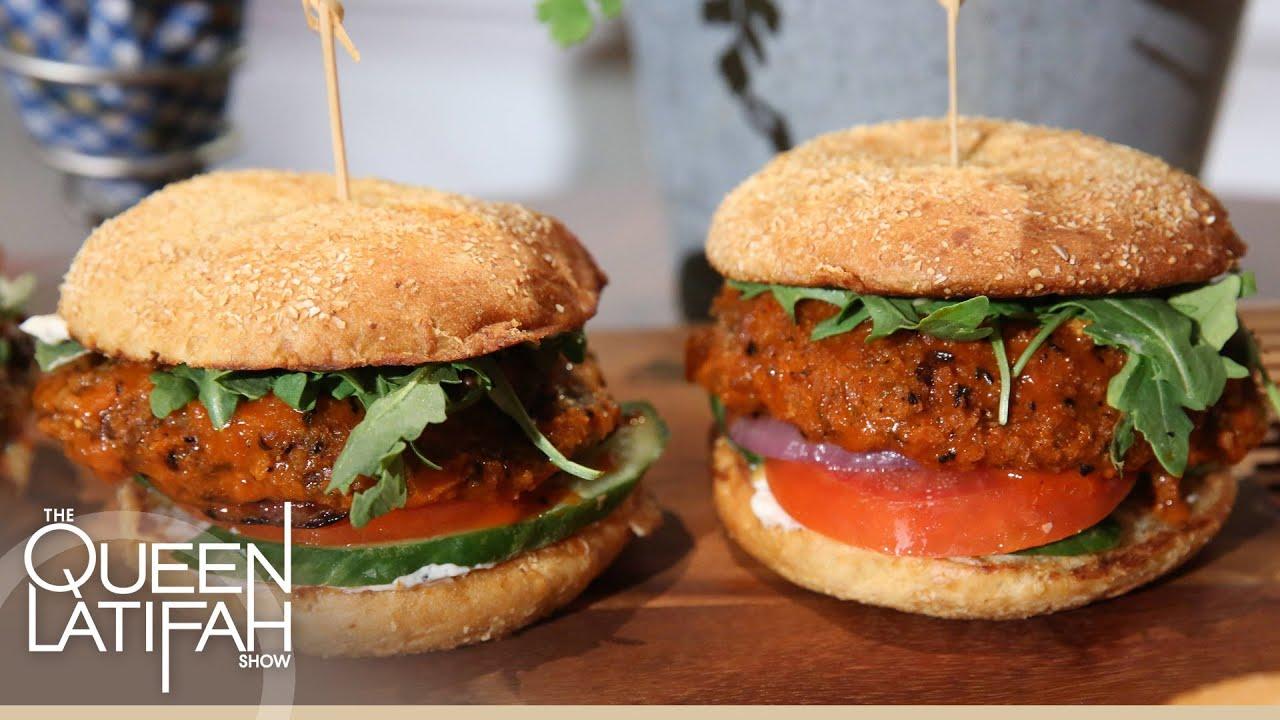 Chef makini howell makes yummy vegan cuisine youtube for Cuisine vegan