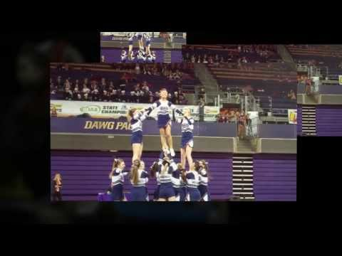 The WIAA/Dairy Farmers of Washington/Les Schwab Tires 2014 State Cheerleading Championships. - created at http://animoto.com.