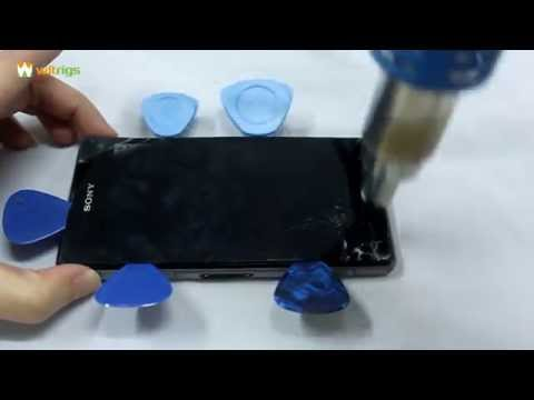 How to Replace Sony Xperia Z1 Compact LCD Screen