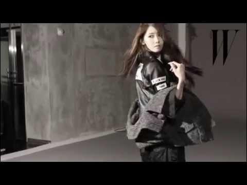 [140901] Yoona - W Korea Bts video