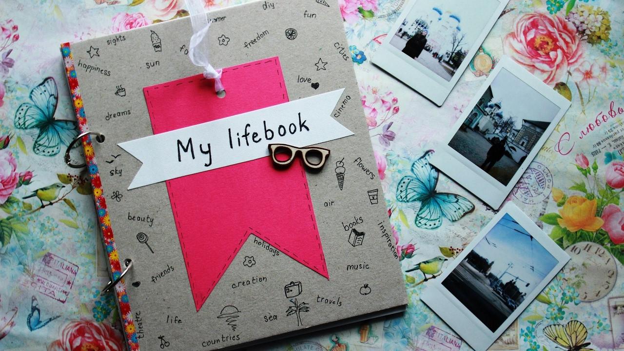 Как украсить личный дневник 49