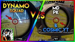 DYNAMO Squad v/s P.K.Gamer , Cosmic YT & MDisCrazY | MOST Intense Fight Ever | Highlight #47