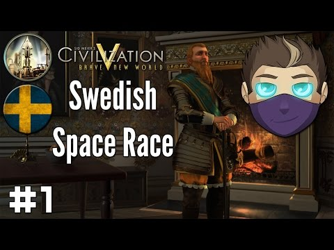 Civilization V: Swedish Space Race #1 - The Founding of Stockholm