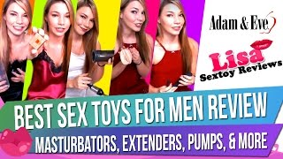 Male Sex Toy Haul: Best Sex Toys for Men Review - Masturbators, Extenders, Pumps, & More