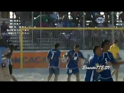 El Salvador 3-3 (4-3) Mexico - Semifinales Premundial de Futbol Playa Bahamas 2013