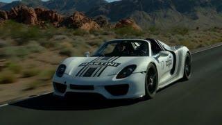 Porsche 918 Spyder Prototype Hot Weather Testing