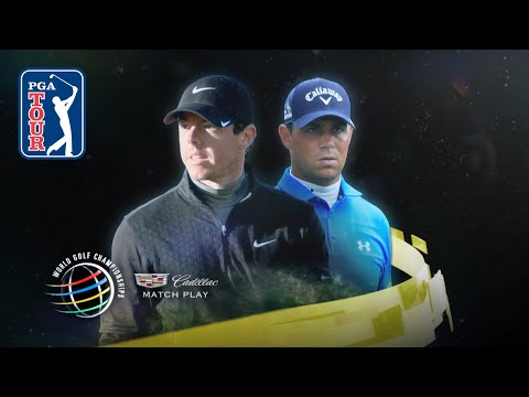 Rory McIlroy defeats Gary Woodland 4 & 2 at the 2015 WGC- Dell Match Play