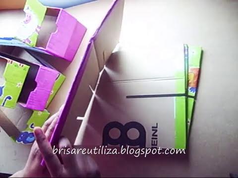 43. DIY ORGANIZADOR CAJONERA GAVETERA (RECICLAJE DE CARTON)
