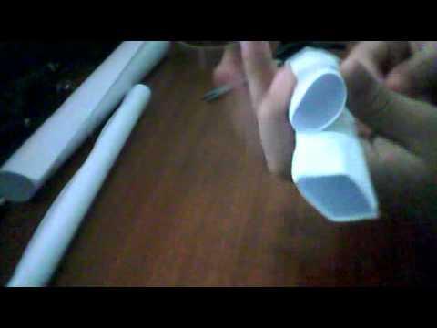 Como hacer una pistola de papel (Sencilla)
