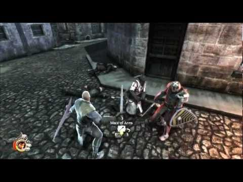 The Cursed Crusade - Gameplay comentado por toith