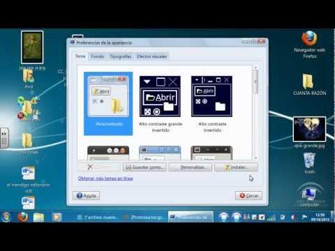 como cambiar el puntero de linux