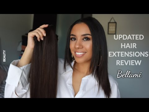 UPDATED/HONEST BELLAMI HAIR EXTENSIONS REVIEW & TUTORIAL
