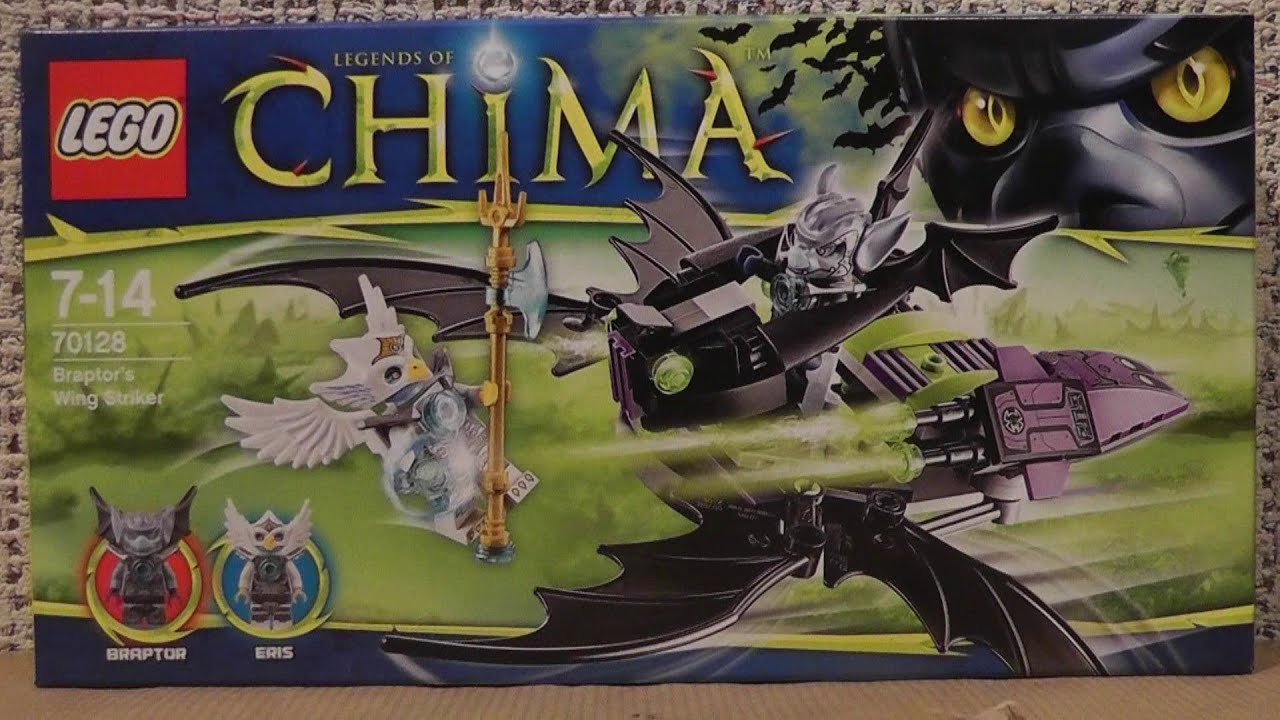 LEGO Chima 70128 Pojazd Braptora - YouTube