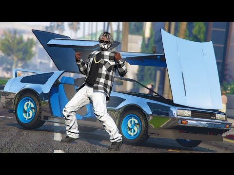 WHOLE SQUAD OUT HERE! - GTA 5 Rapper's Life
