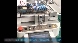 LY R890 Semi-automatic BGA rework station with optical align function