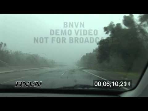 Hurricane Gustav Video, Houma, LA 9/1/2008 - CC 3