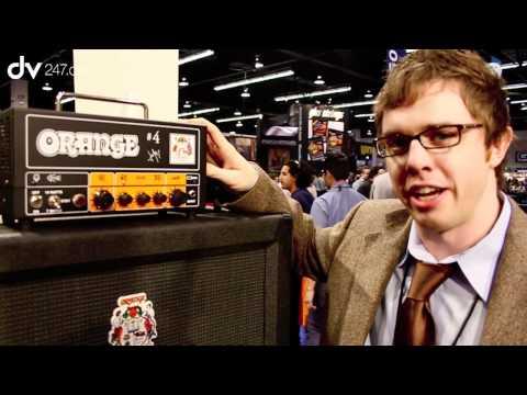 Orange Jim Root Signature @ NAMM 2012