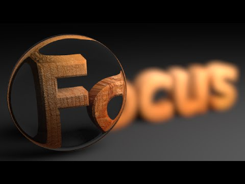 Blender Tutorial: Focused Text Animation