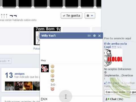 Simbolos e Imagenes Para Chat