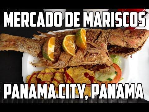 A Quick Look At The Mercado de Mariscos Panama City, Panama