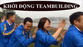 Trò chơi tập thể, khởi động Teambuilding Dược phẩm Tâm Bình