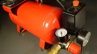 Air Compressor Explanation, Repair and Hack