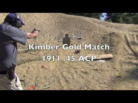 Kimber Gold Match 1911 .45 ACP