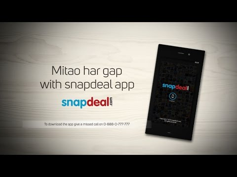 #MitaoHarGap With Snapdeal App