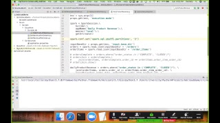 Development life cycle of Spark 2 applications using Python (using Pycharm)