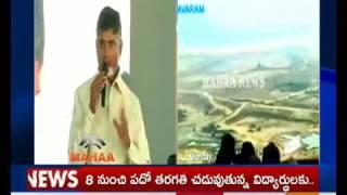AP CM Chandrababu Powerpoint Presentation On Polavaram Project|Explain to MLAs and MLCs|Vijayawada