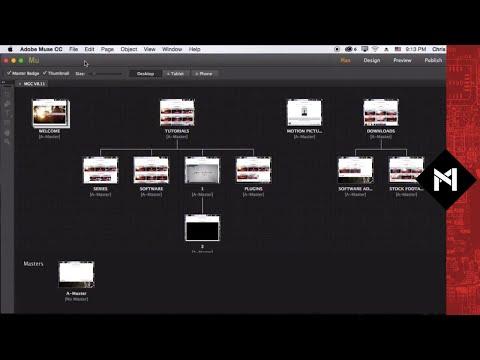 Videos in Adobe Muse