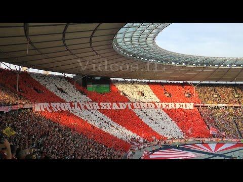 [4-3] Pokalfinale Bayern München - Borussia Dortmund 21.5.2016 Choreo der Bayern