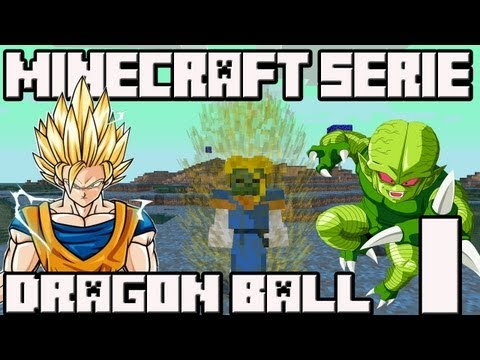 Minecraft 1.4.7 MINI-SERIE Mod Dragon Ball!! Cap.1