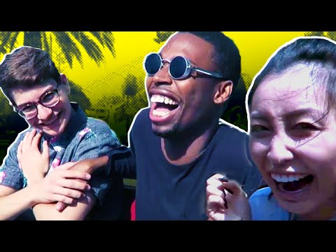 LOSING OUR SH*T ON A ROLLERCOASTER (Squad Vlogs - Field Trip)
